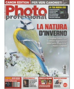 "Professional Photo - mensile n. 98 Gennaio 2018 ""La Natura d'inverno"""