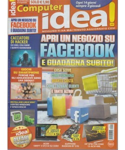 Il Mio Computer Idea!-Quattordicinale n.141-28 Dicembre 2017 Negozio su Facebook
