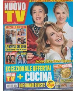 Nuovo Tv - settimanale n. 1 - 9 gennaio 2018 + CUCINA n. 1 /2018