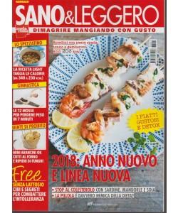 Sano & Leggero - mensile n. 1 Gennaio 2018 - Dimagrire mangiando con gusto