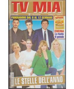 Tv Mia - settimanale pocket n. 1 - 9 gennaio 2017
