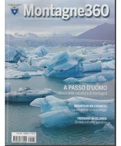Montagne 360 - mensile n. 64 Gennaio 2018 la rivista del Club alpino italiano
