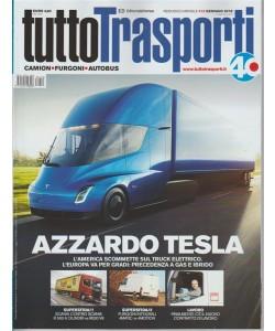 Tuttotrasporti - mensile n. 412 Gennaio 2018 - Camion - Furgoni - Autobus