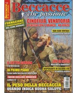 Beccacce che Passione-bimestrale n.1 Gennaio2018 - Setter Gordon e la beccaccia