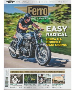 Ferro: moto speciali * uomini speciali - mensile n. 30 - Gennaio 2018
