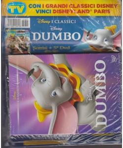 Sorrisi e Canzoni Tv - settimanale n. 3 - 20 Gennaio 2018 + DVD Disney: Dumbo
