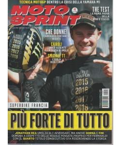Moto sprint - n. 40 - 8 ottobre 2018 - settimanale -