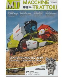 Macchine Trattori - n. 187 - ottobre 2018 - mensile