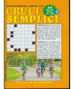 Cruci semplici - n. 87 - bimestrale - 68 pagine -
