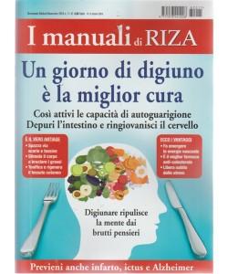 I Manuali Di Riza - Un Giorno Di Digiuno è la miglior cura - n. 11 - bimestrale - ottobre - novembre 2018 -