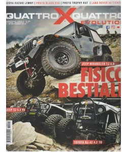 Quattroxquattro X Evolution - n. 22 - bimestrale - ottobre - novembre 2018