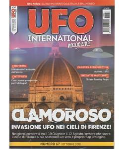 Ufo International magazine - n. 67 - ottobre 2018 - mensile