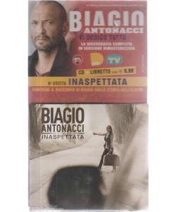 Gli speciali musicali di Sorrisi n. 25 - del 9 ottobre 2018 - Biagio Antonacci - cd + libretto - sesta uscita - Inaspettata