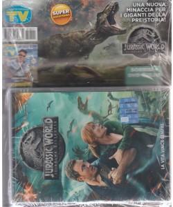 Sorrisi + DVD  Jurassic world - iLregno distrutto -