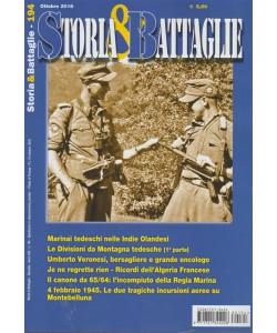 Storia E Battaglie - n. 194 - mensile - ottobre 2018 -