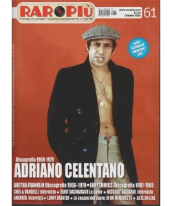 Raropiu' - Adriano Celentano - n. 61 - ottobre 2018 - mensile