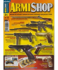 Armi Shop - n. 11 - novembre 2018 - mensile