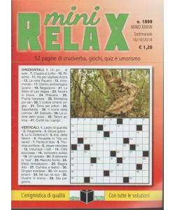 Mini Relax - n. 1899 - settimanale - 16/10/2018 -