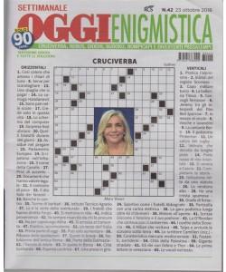 Settimanale Oggi Enigmistica - n. 42 - 23 ottobre 2018 -
