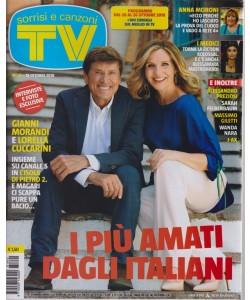 Sorrisi E Canzoni Tv - n. 42 - 16 ottobre 2018 - settimanale