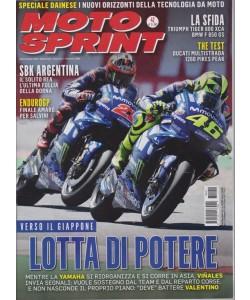 Motosprint - n. 42 - settimanale - 16/22 ottobre 2018 -