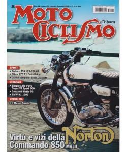 Motociclismo d'epoca - n. 11 - mensile - novembre 2018 -