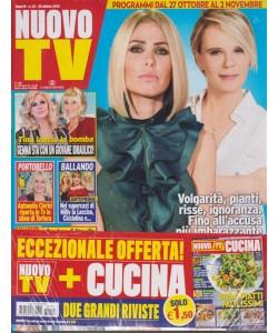 Nuovo tv + Nuovo tv cucina  - n. 43 - settimanale - 30 ottobre 2018 - 2 riviste