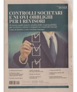 Controlli societari e nuovi obblighi per i revisori - n. 3 - ottobre 2018