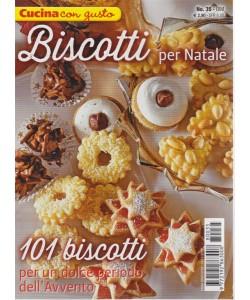 Cucina Con Gusto - Biscotti Per Natale - n. 35 - bimestrale - 25/10/2018