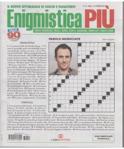 Enigmistica Piu' - n. 43 - 31 ottobre 2018 - settimanale
