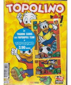 Topolino + Le trading cards del Paperopoli team - n. 3282 - settimanale - 17  ottobre 2018