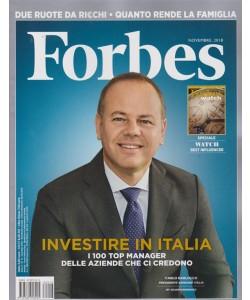 Forbes - n. 13 - novembre 2018 - mensile