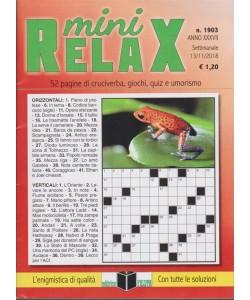Mini Relax - n. 1903 - settimanale - 13/11/2018