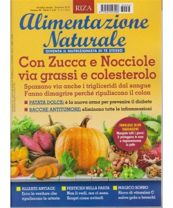 Alimentazione naturale - n. 38 - mensile - novembre 2018 -