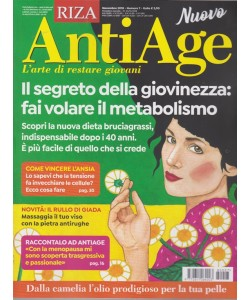 Antiage - n. 7 - novembre 2018 - mensile