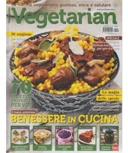 Vegetarian - n. 19 - bimestrale - novembre - dicembre2018 - 2 riviste