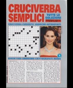 Cruciverba Semplici - n. 85 - bimestrale - dicembre - gennaio 2019 -