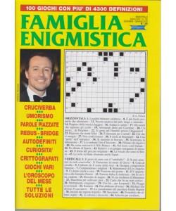 Famiglia Enigmistica - n. 192 - bimestrale - dicembre - gennaio 2019