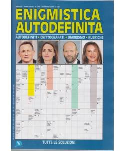 Enigmistica Autodefinita - n. 346 - mensile - dicembre 2018