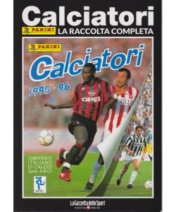 Album Storici Panini - 1995  - 96 - La raccolta completa - Calciatori - N. 9 - settimanale
