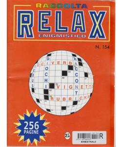 Raccolta Relax enigmistico - n. 154 - bimestrale - giugno l uglio 2017 - 256 pagine