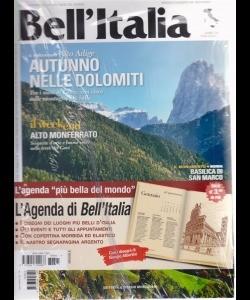 Bell'Italia con agenda - n. 391 - mensile - novembre 2018