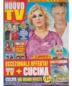 Nuovo Tv - settimanale n. 3 - 23 Gennaio 2018 + CUCINA n. 2 Gennaio 2018