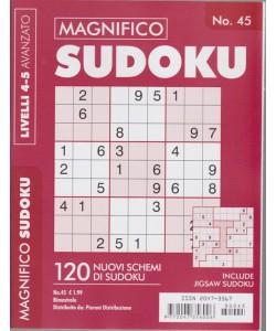 Magnifico Sudoku - n. 45 - bimestrale - livelli 4-5 avanzato