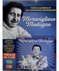 Meraviglioso Modugno - Triplo CD - Tutto il carisma di un cantautore leggendario