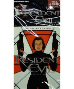 Resident evil collection - Contiene 5 film della saga (DVD di Panorama)