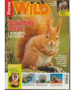 Focus Wild - mensile n. 80 Marzo 2018 - 100% animale