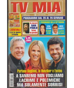 Tv Mia - settimanale pocket n.3 - 23 gennaio 2018 Le nuove frittelle