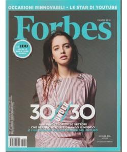 Forbes Italia - mensile n. 5 Marzo 2018 - Matilde Gioli: attrice