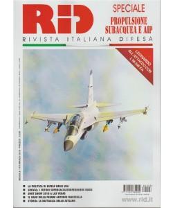 RID: rivista italiana difesa -mensile n.3 Marzo 2018 Propulsione subacquea e AIP